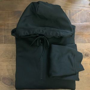 H&M Shirts - H&M half zip hooded sweatshirt